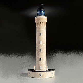Model of Ardnamurchan Lighthouse