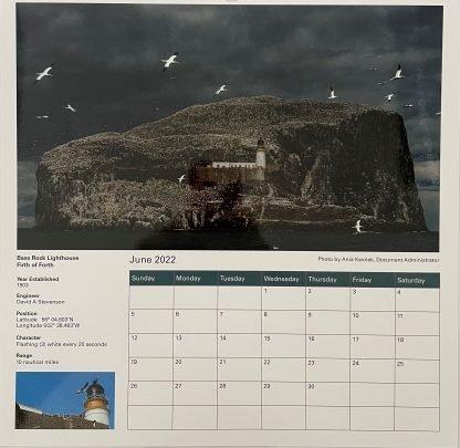 2022 Calendar - Inside