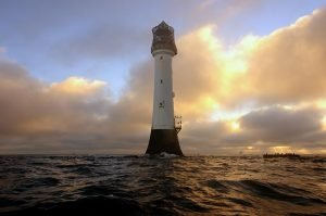 Bell Rock Lighthouse, photo by Ian Cowe