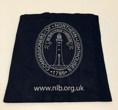 Blue cotton shopping bag