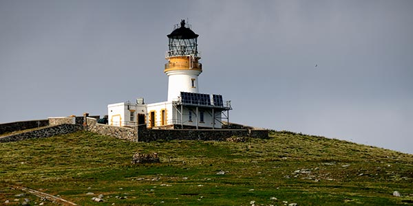 Lighthouse on Flannan Isles