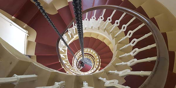 KInnaird Head Stairs