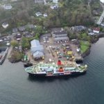 Oban base taken from above