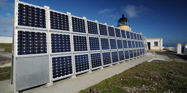 Solar Panelsfor Lighthouse